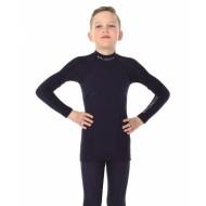 Блуза на мальчика Active Wool 41% черный NEW 2018!