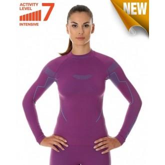 Футболка женская дл.рукав Thermo Nilit Heat фиолетовый