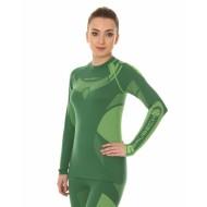 Футболка женская длинный рукав DRY 2017 зеленый
