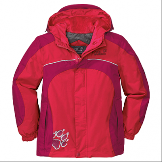 Куртка детская Girls Puffin Jacket, 1602871-2122 Jack Wolfskin