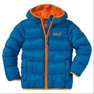 Куртка детская Kids Hooded Icecamp Jacket, 1602891-1062 Jack Wolfskin
