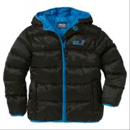 Куртка детская Kids Hooded Icecamp Jacket, 1602891-6000 Jack Wolfskin