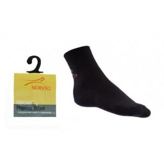 Термоноски Norveg Merino wool, артикул 9WU-002 черный